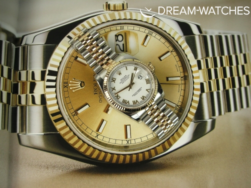 XMAS SPECIAL!! - WORN ONCE 2014  Rolex Date-Just 116233 36mm White Dial Roman Numerals Complete Example