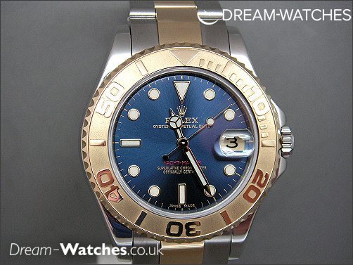 Rolex Yacht-master 168623 Mid Size Brand New Complete Example
