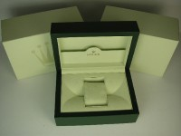 Mens or ladies rolex inner and outer box - new style for watches from 2004 onwards.