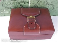 Leather Rolex Inner Box and Cardboard Outer - Buckle Design