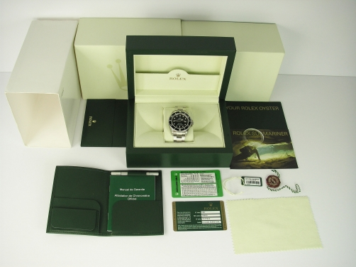 Rolex Submariner 16610LV Green Anniversary