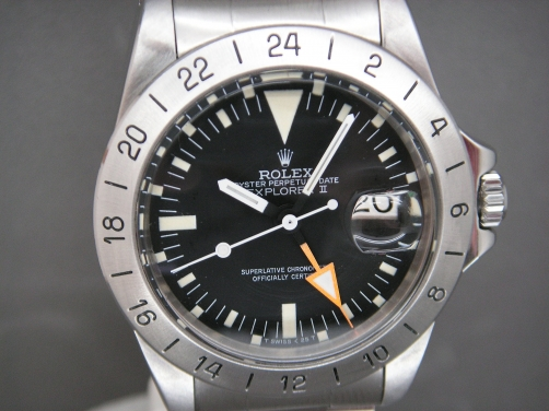 Vintage Rolex Explorer 1655 Orange Hands AKA Steve McQueen from Original Owner