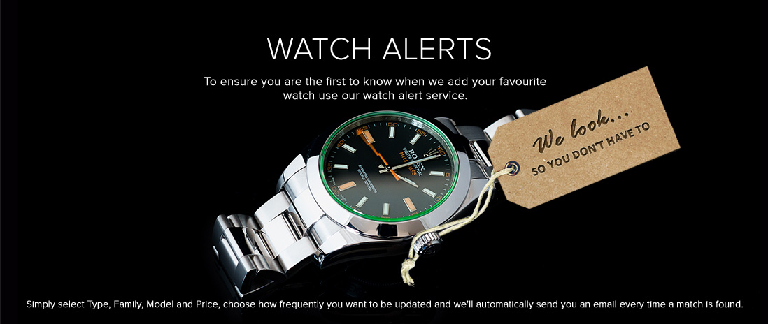 Sign Up For Watch Alerts