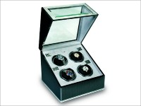 Multiple Watch Winder - F3 carbon fibre and aluminium