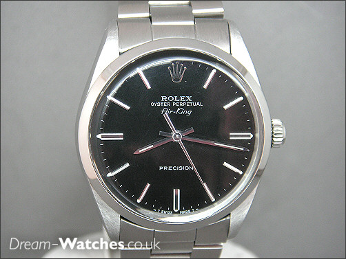 Pre owned Rolex Air-king Precision 5500