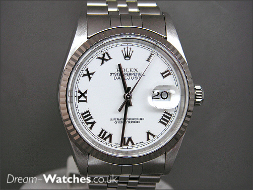 Pre owned Rolex Date-Just 16324