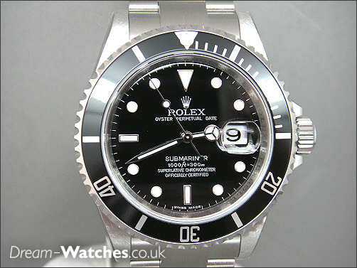 Brand New Old Stock Rolex Submariner Date 16610