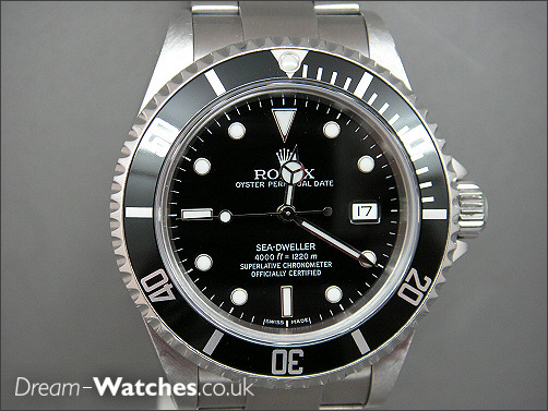 Rolex Sea-Dweller 16600 Pre Owned in as new condition