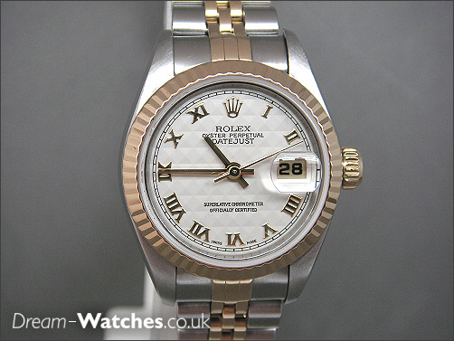 Pre owned Rolex Ladies Date-Just 69173