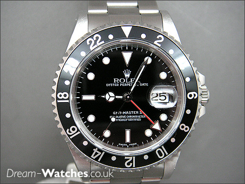 Pre owned Rolex GMT 16710