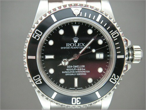 Vintage Mens Rolex transitional Sea-Dweller 16660