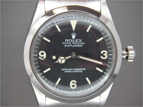 Vintage Mens Rolex Explorer 1016 Hacking