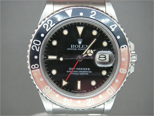 Vintage Mens Rolex GMT11 rare model reference 16760