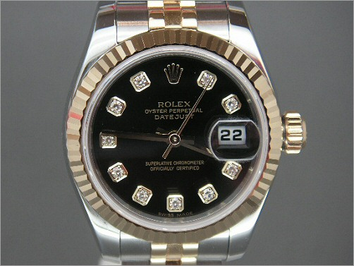 Worn once Ladies Rolex Date-Just 179173