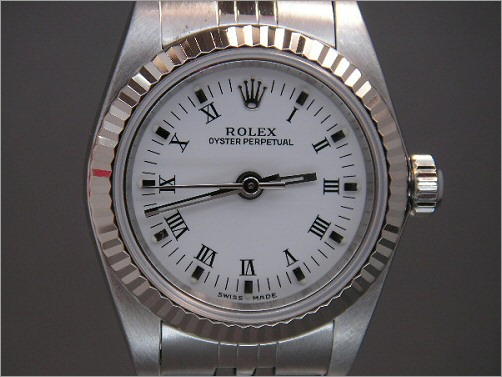 Pre owned Ladies Rolex Oyster Perpetual 76094