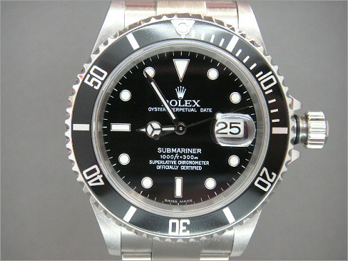 Pre owned New Mens Rolex Submariner Date 16610