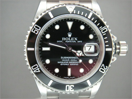 As new Mens Rolex Submariner Date 16610