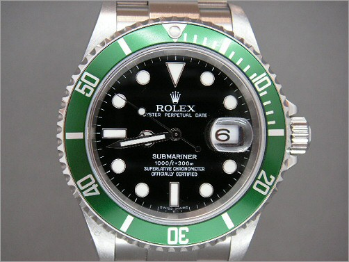 As new Mens Rolex 50th Anniversary Submariner 16610LV