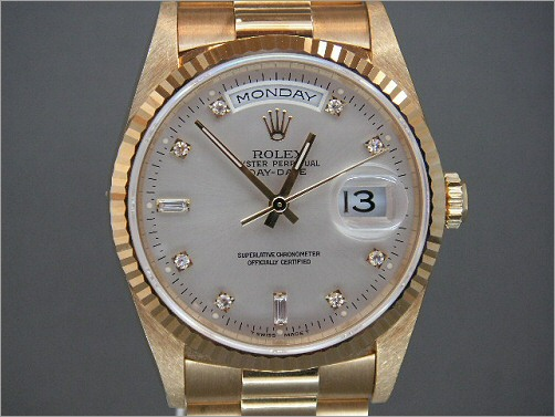 As new mens Rolex 18K Day-date 18238