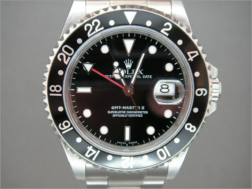 Preowned Rolex GMT2 16710