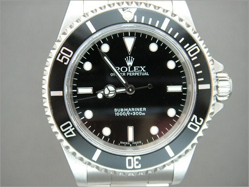 Pre owned mens Rolex Submariner 14060M