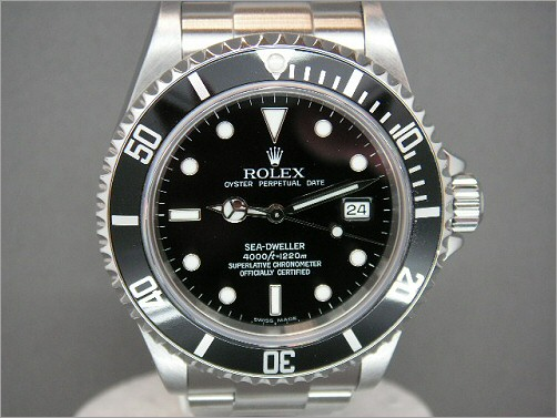 Pre owned mens Rolex Sea-Dweller 4000 16600