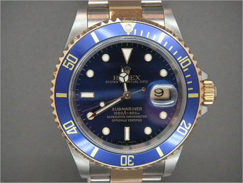 Pre owned mens Rolex Submariner 16613 latest model