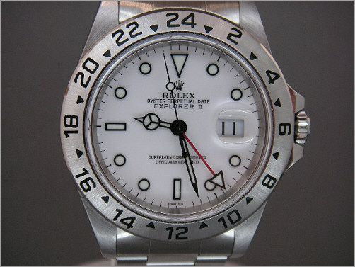Pre owned mens Rolex Explorer 2