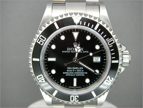 Worn once Rolex Sea-Dweller 16600