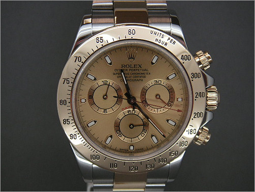 Pre owned mens Rolex Daytona 116523
