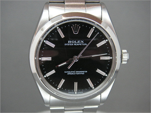 Pre owned mens Rolex Oyster Perpetual