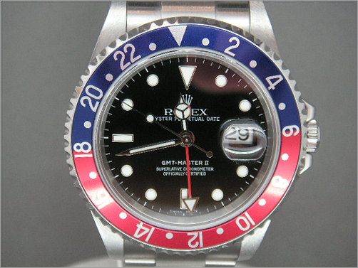 Worn once mens Rolex GMT2 16710