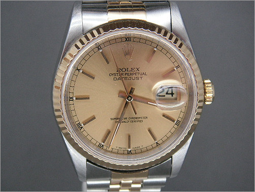Pre owned mens Rolex Date-Just 16233