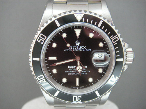 Mens Rolex Submariner Date 16610
