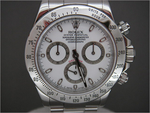 As new Mens Rolex stainless steel Daytona 116520