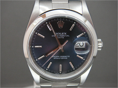 Mens Rolex Oyster Perpetual Date 15200