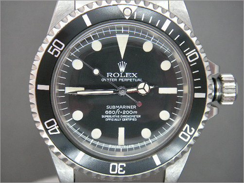 Mens vintage Rolex Submariner Chronometer 5512