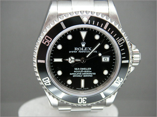 Mens Rolex Sea-Dweller 16600