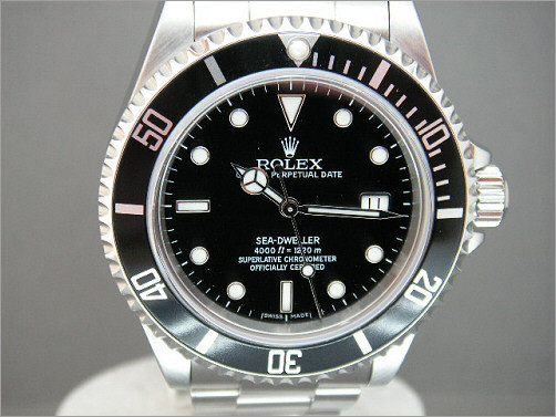Pre owned Mens Rolex Sea-Dweller 16600