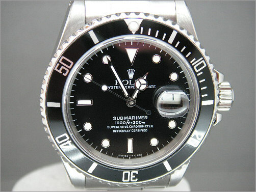 Mens vintage Rolex transitional Submariner 16800