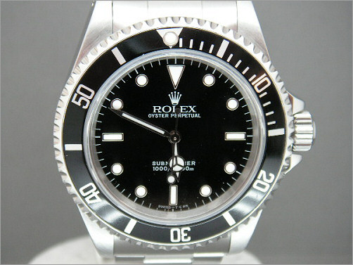 Pre owned mens Rolex Submariner 14060