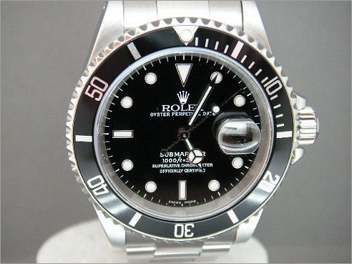 Pre owned mens Rolex Submariner Date 16610