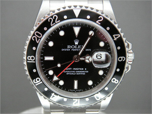 Mens pre owned Rolex GMT2 16710
