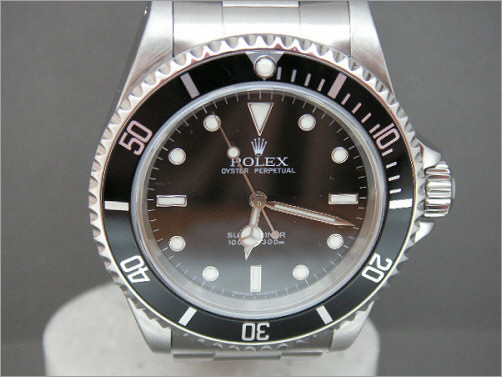 Pre owned mens Rolex steel Submariner 14060M