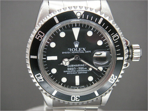 Vintage Rolex Submariner 1680 - Very special as it use to be a red Sub!!