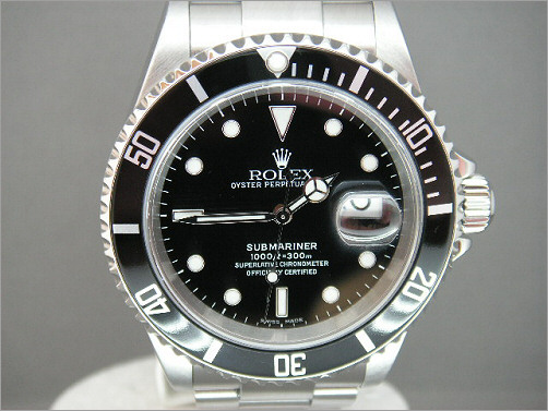 Pre owned mens Rolex Submariner 16610