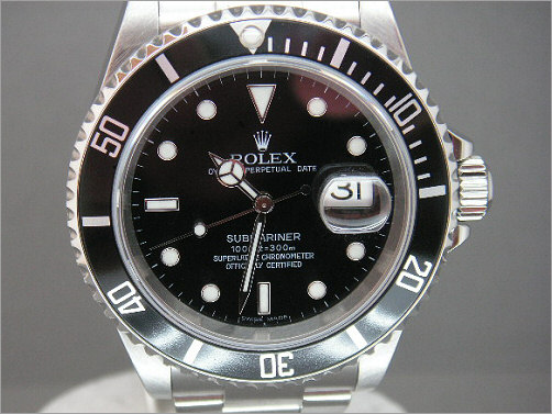 Worn once Rolex Submariner Date 16610