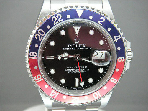 Pre owned Mens Rolex GMT2 16710