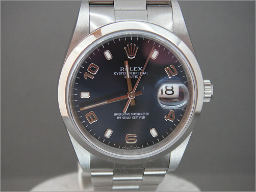 Worn once mens Rolex Oyster Perpetual Date 15200
