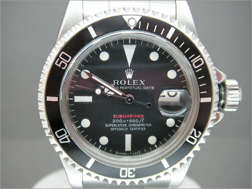 Very early vintage Rolex red writing Submariner 1680
